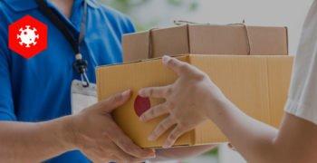 Como funcionam as entregas no condomínio em tempos de pandemia.